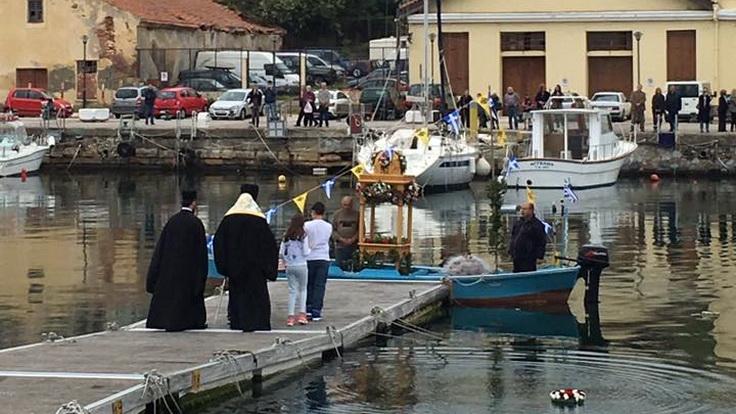 Επιτάφιος στο Λιμάνι της Αλεξανδρούπολης