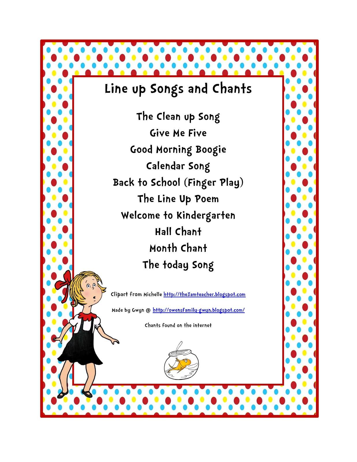 Dr Seuss Songs Preschool