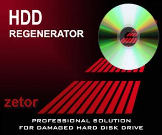 15 Cara Memperbaiki Bad Sector Hardisk Menggunakan HDD Regenerator 2011