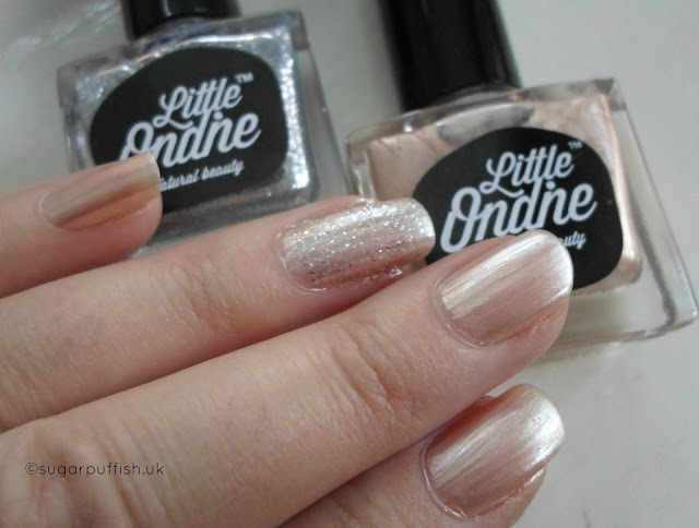 Wedding Nails Little Ondine Natural Nail Polish Obsession Overnight
