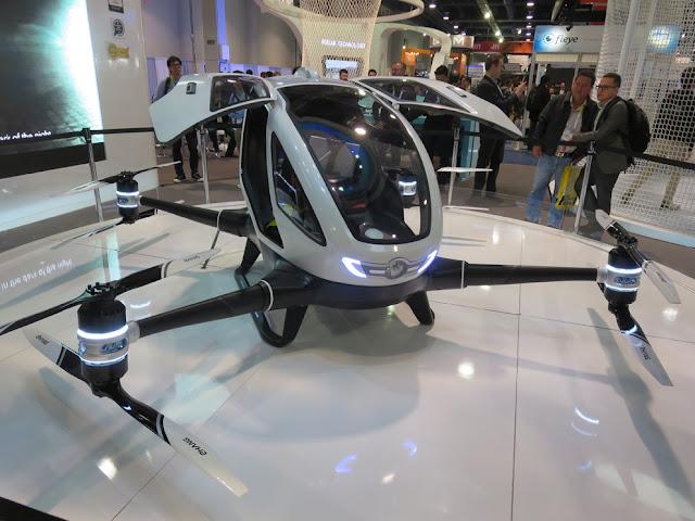 EHang-184 Dron que transporta personas en EE UU