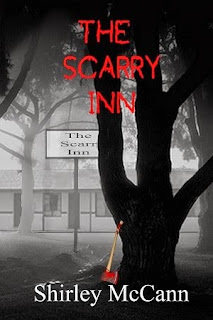the scarry inn, shirley mccann, shirley author, horror young adult, spooky ya