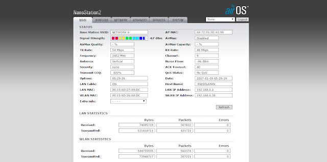 Ubah TP-LINK WA5210G v2 jadi UBNT NanoStation 2