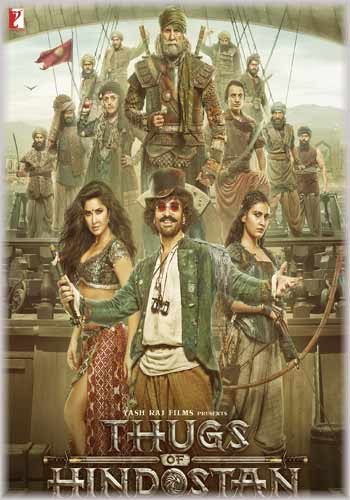 Thugs of Hindostan 2018 x264 480p HDRip 400MB