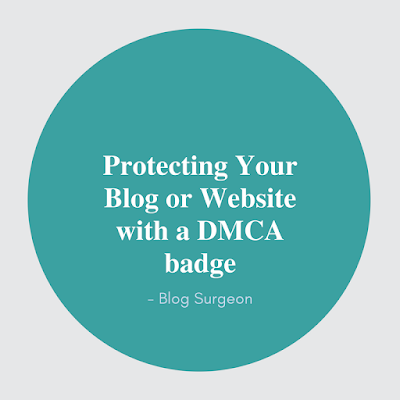 Protecting website with a DMCA BADGE