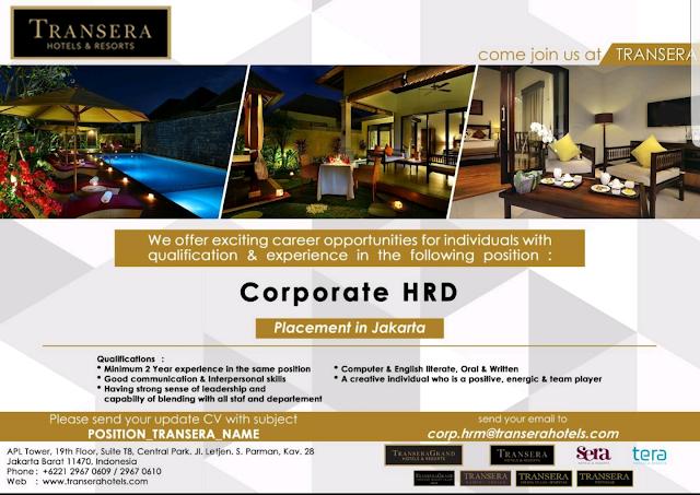 Lowongan Kerja Hotel di Jakarta