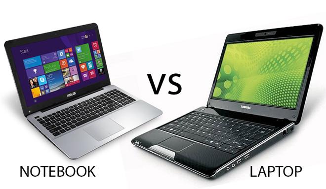 Perbedaan Laptop dan Notebook itu