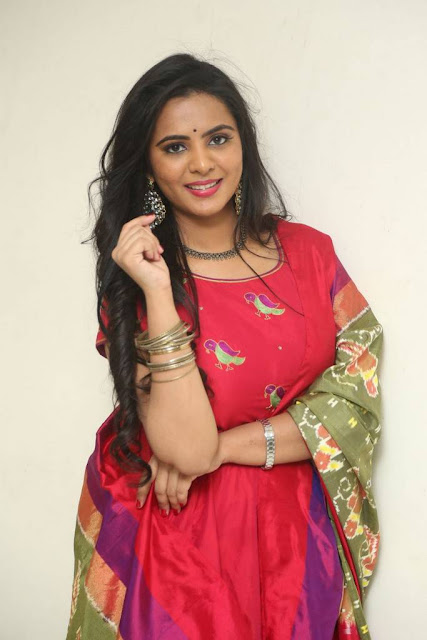 Manasa Stills At Fashion Designer S/o Ladies Tailor Press Meet