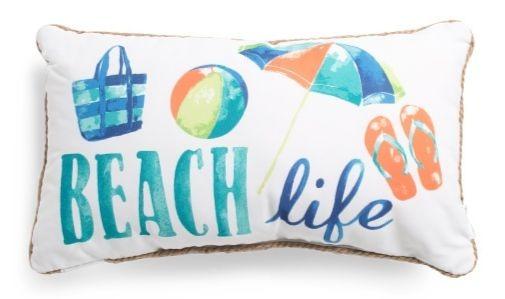 Beach Life Lumbar Pillow