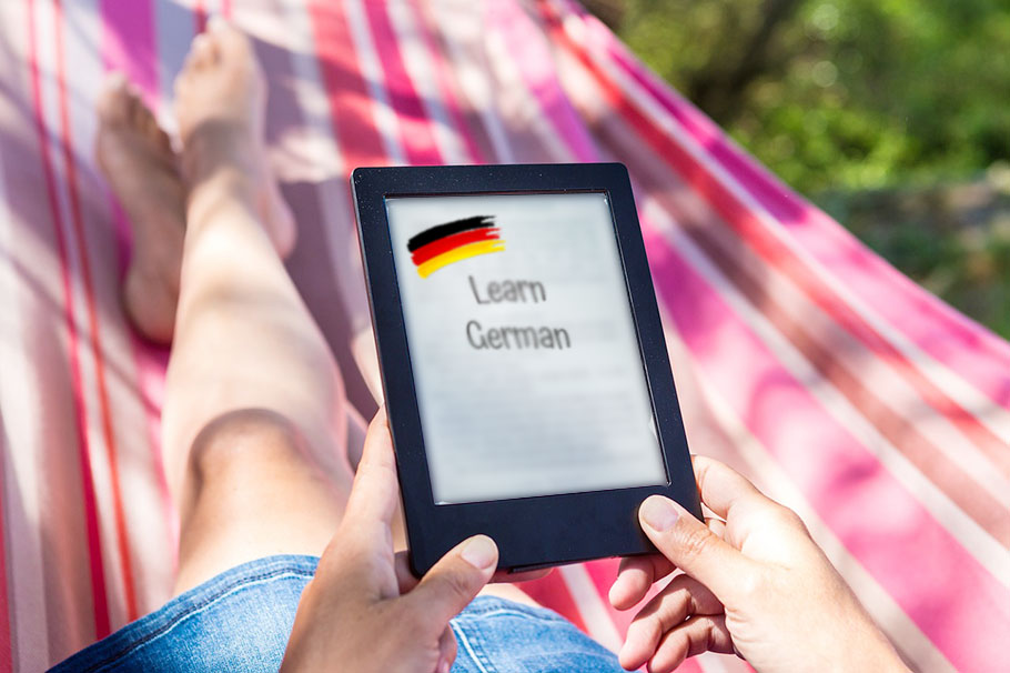 Learn German, freshen up your Spanish, and practice writing Kanji