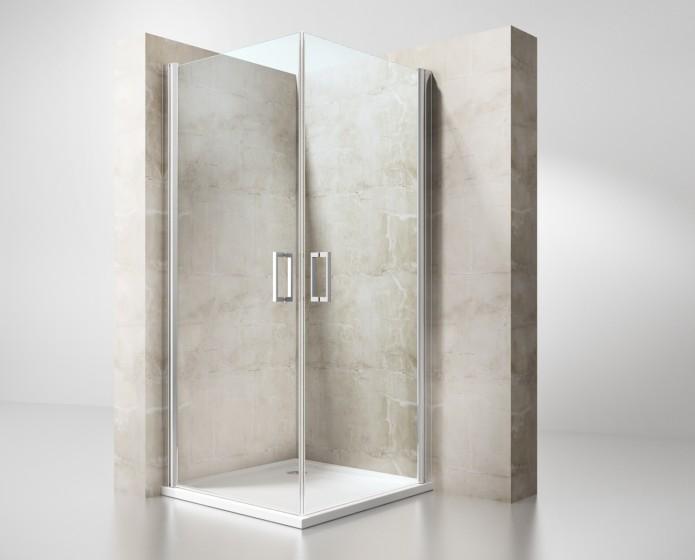 Box doccia saloon 8 mm box doccia cabine multifunzione e vasche per disabili - Cabine doccia per disabili ...