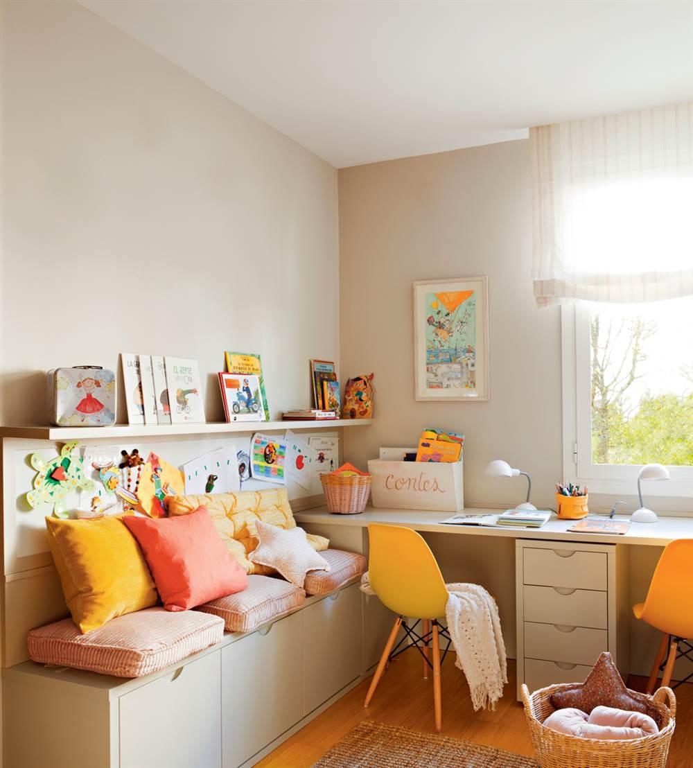 Pintar Habitacion Infantil Dos Colores Cool Pintar Cuarto Nia  ~ Pintura Para Habitaciones Infantiles