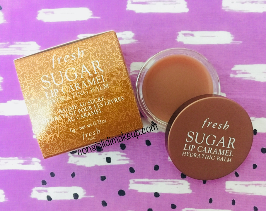 Sugar Lip Caramel Hydrating Balm Fresh recensione