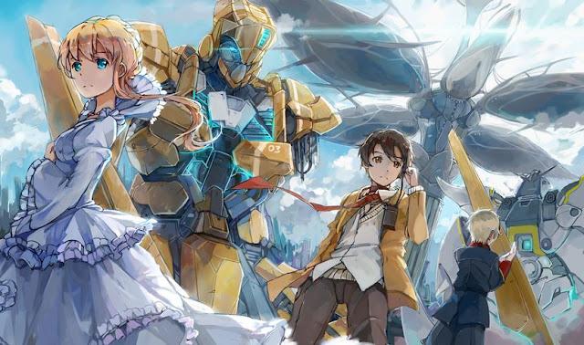 Rekomendasi Anime Mecha Terbaik aldnoah zero