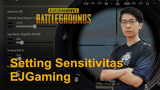 Setting Sensitivitas EJGaming