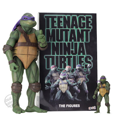 SDCC 2018 NECA Teenage Mutant Ninja Turtles Movie Action Figure Box Set
