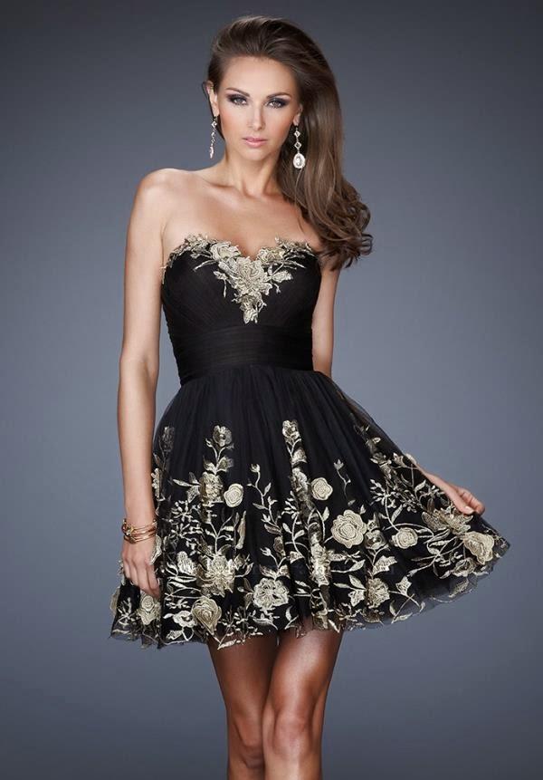 61115f04d0bdc فستان سهرة قصير من لافام - فساتين زفاف