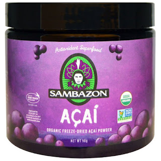 بودة شجرة الاساي Sambazon, Acai, Organic Freeze-Dried Acai Powder, 90 g