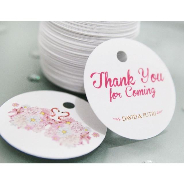 Miyoku: thank youcard | Personalized Souvenir Jakarta Barat