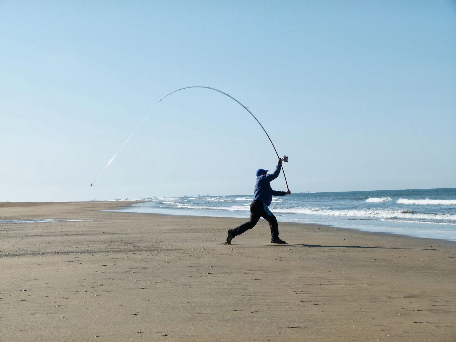 El Pesquin La Elección De Las Cañas Para Pescar Desde Las Playas Del Norte