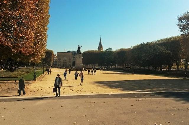 Promenade du Peyrou montpellier