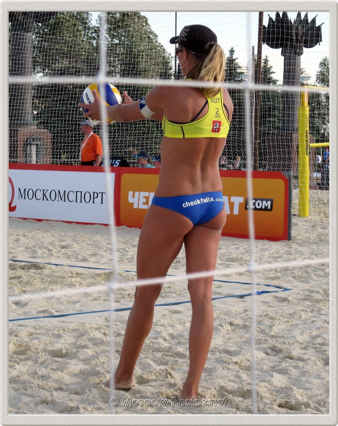 Austrian Beach Volleyball Player Barbara Babsi Hansel