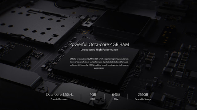 UMIDIGI C2 Smartphone With 4GB Ram, 4000Mah Battery Specs And Price
