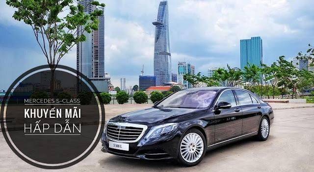 Dòng xe Mercedes khuyến mãi hấp dẫn tại Mercedes Trường Chinh