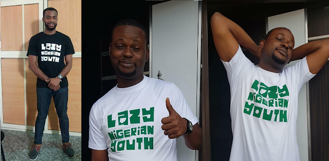 #LazyNigerianYouth T-Shirts And Cap Out - See Photos