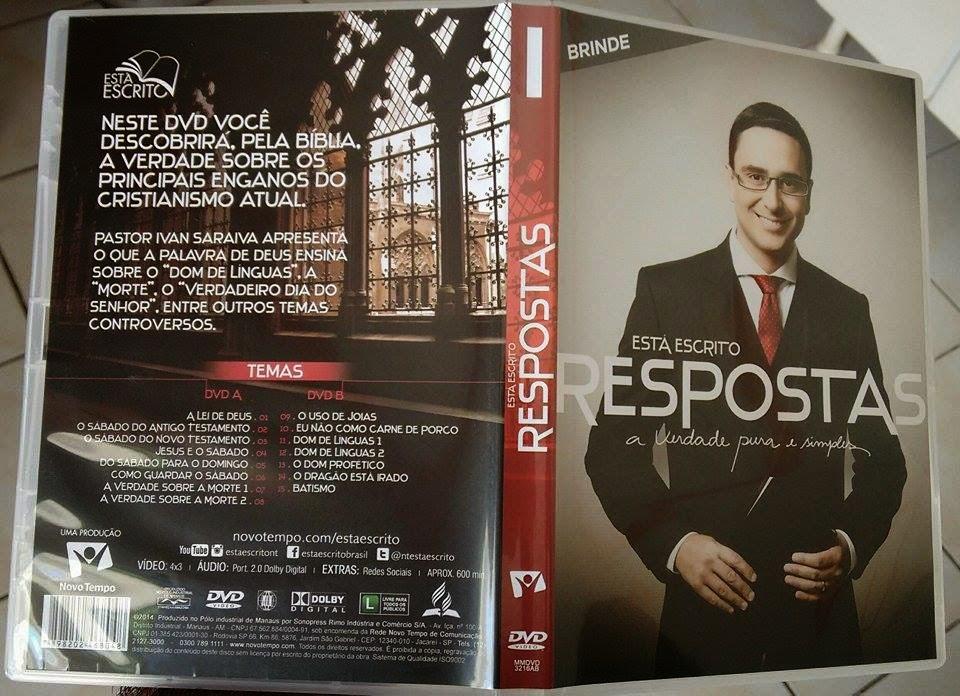DVD Novo Tempo