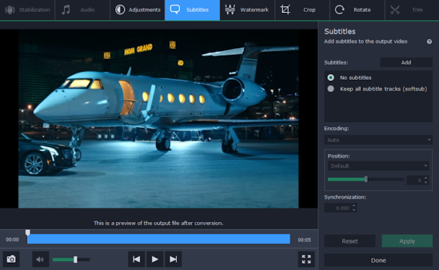Conversión de videos comerciales flash con Movavi Video Converter