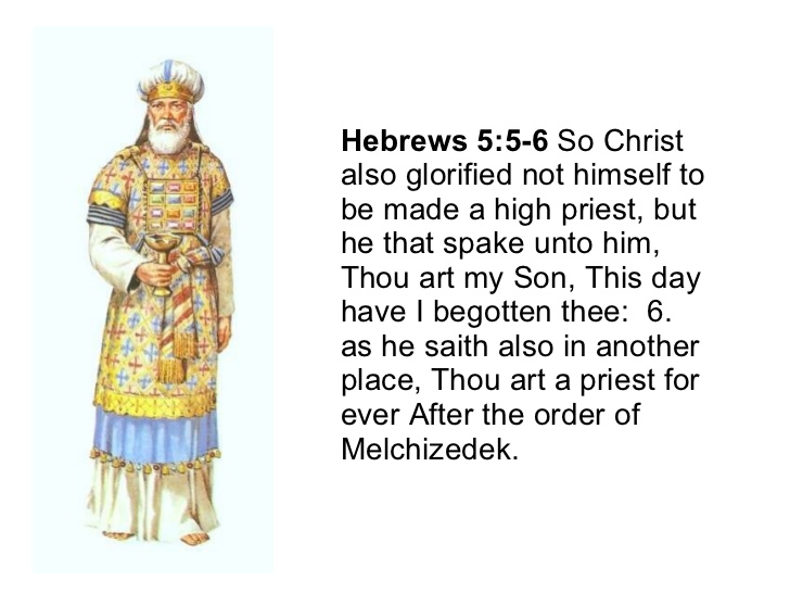 Image result for hebrews 5:6