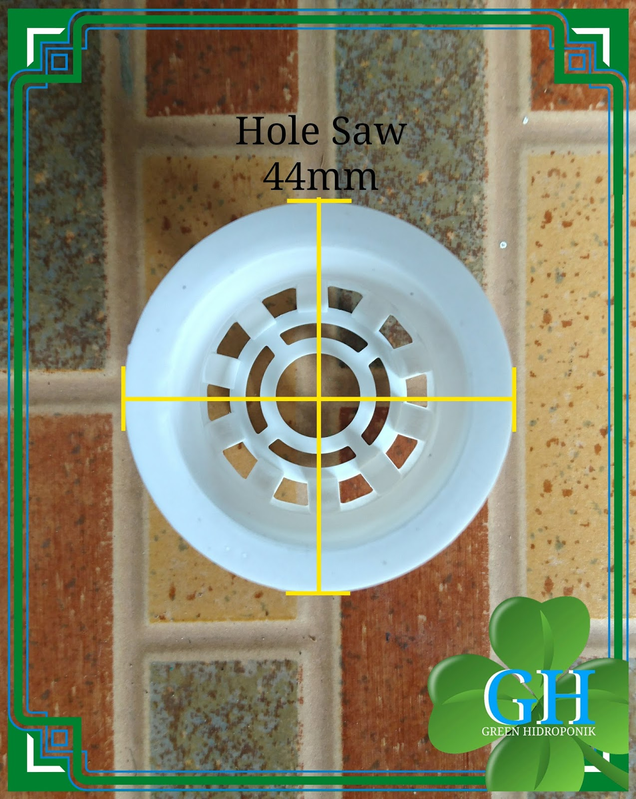 Netpot Hidroponik Net Pot Kecil Atas 55cm 5cm Tinggi Putih Hitam Gambar Produk Lainnya