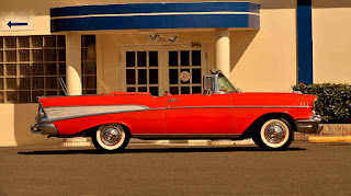 1957 Chevrolet Bel Air Convertible Side Right