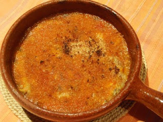 bocartes o boquerones con tomate al horno
