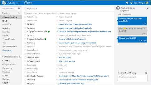 Hotmail como faço login