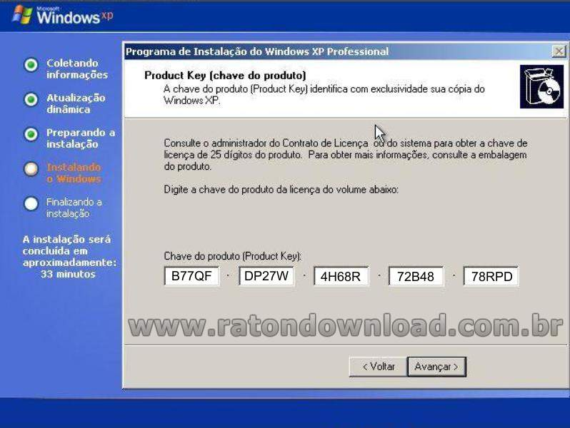 windows xp activation key crack