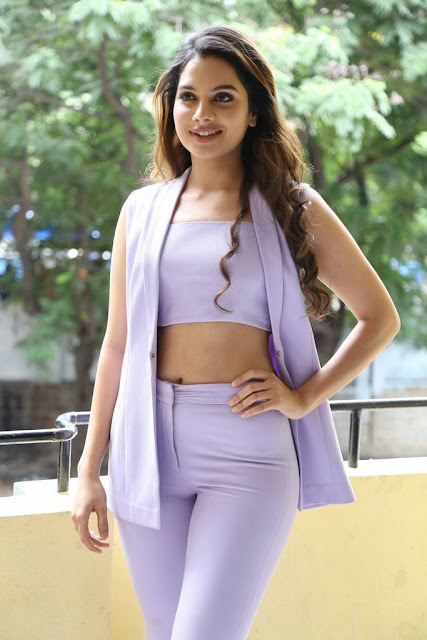 Tanya Hope Stills At Patel SIR Movie Interview