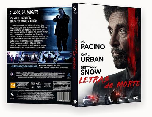 CAPA DVD – Letras Da Morte DVD-R