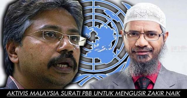 Aktivis Malaysia Ingin Usir Zakir Naik Dengan Surati PBB