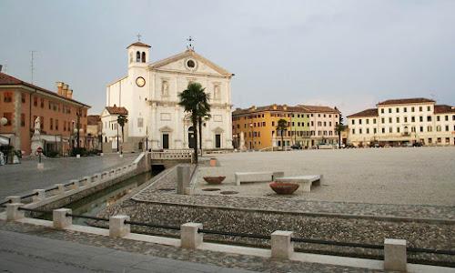 Praça central de Palmanova
