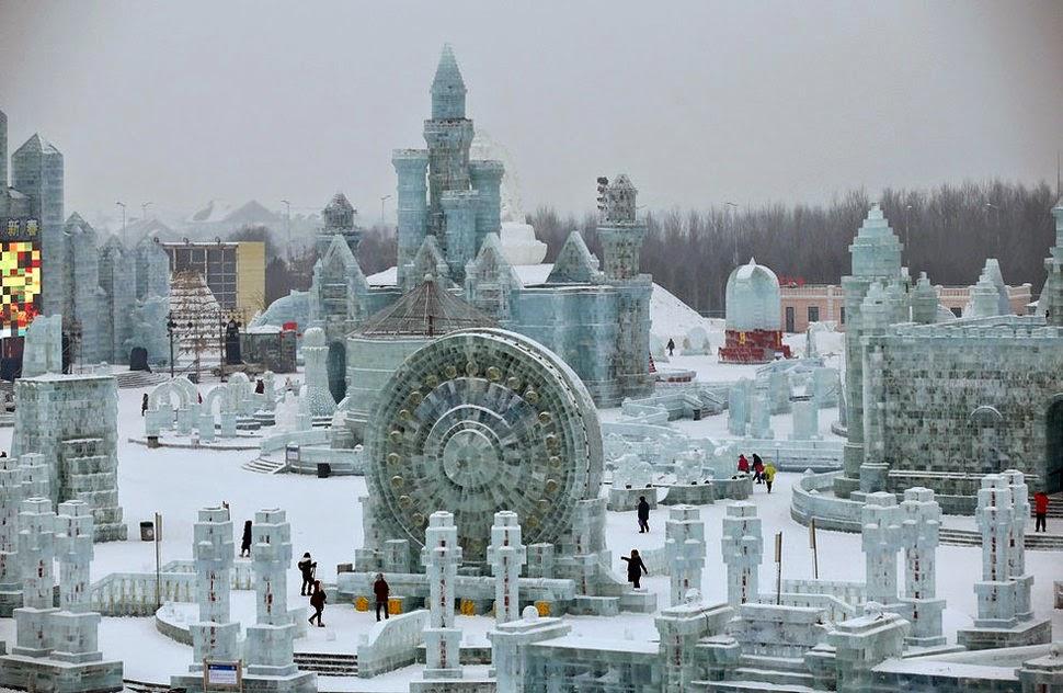 harbin la città di ghiaccio in cina
