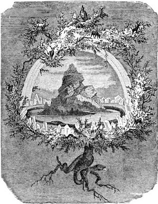 The Ash Yggdrasil by Friedrich Wilhelm Heine (1845-1921) Wikimedia Commons