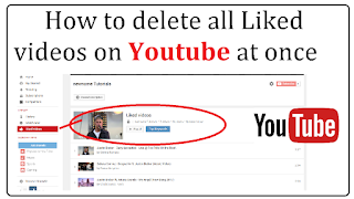 How to delete all liked videos on youtube