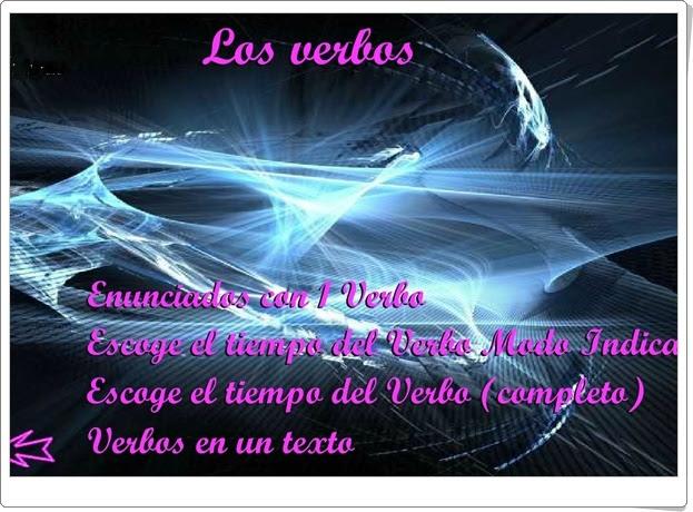 """""""Los verbos"""" de José Antonio del Olmo Vián (Lengua española de Educación Primaria)"""