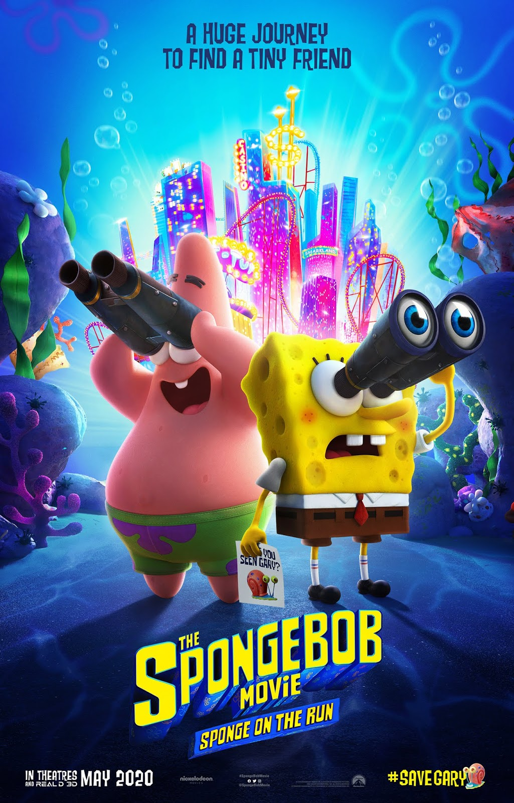 Nick Com Spongebob Movie : spongebob, movie, NickALive!:, First, Poster, SpongeBob, Movie:, Sponge