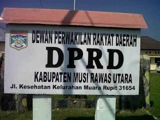 Uang Lembur Stap Keuangan  DPRD Muratara Dipertanyakan