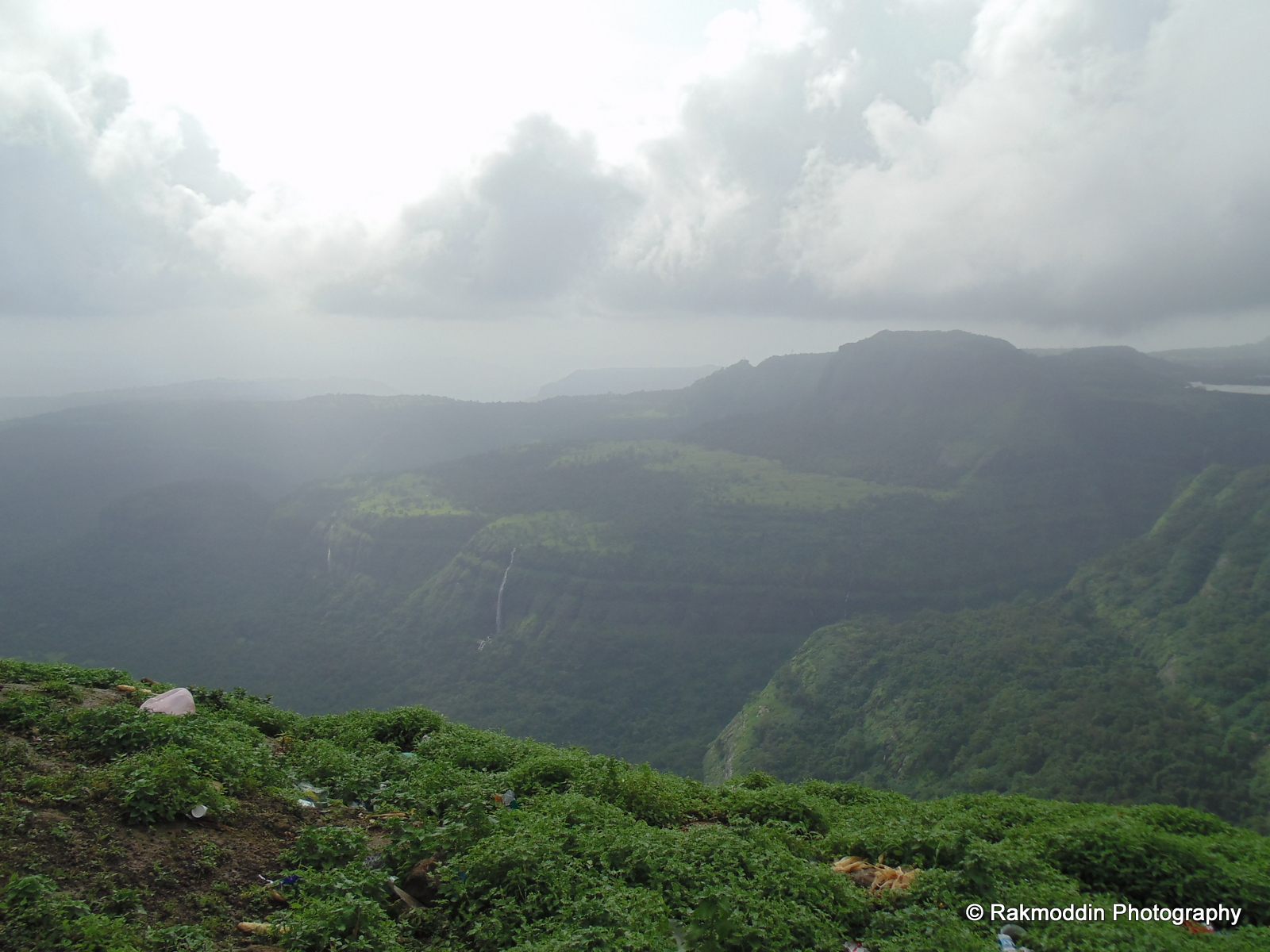 Lions point in Lonavala, near Pune, Maharashtra, India