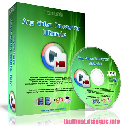 Download Any Video Converter Ultimate 6.1.5 Full Keygen – Chuyển đổi mọi định dạng Video