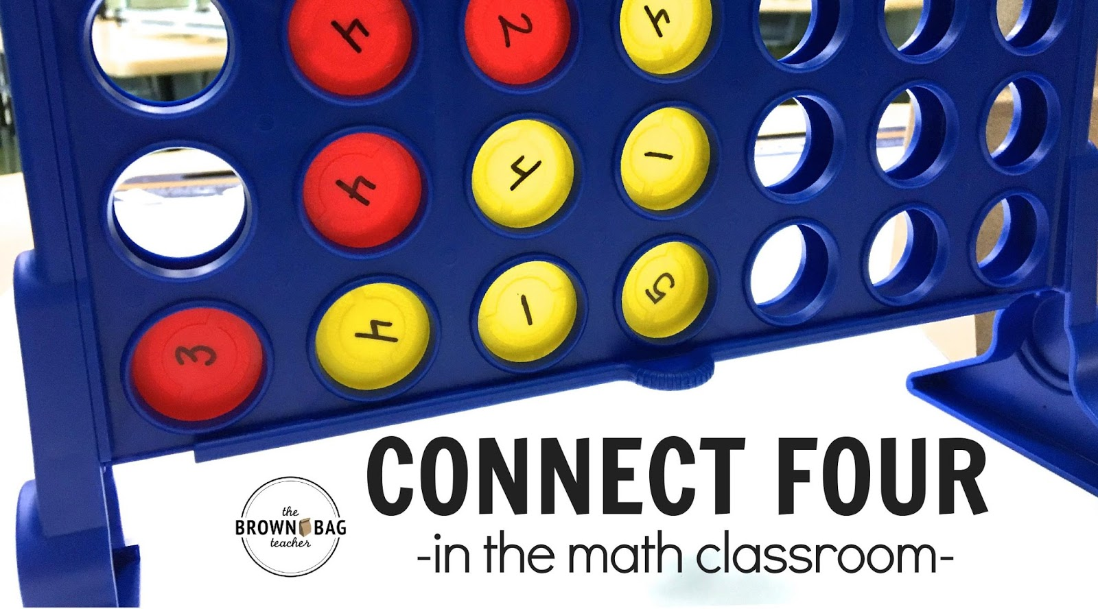 Using math centers during Guided Math each day, I feel like I am always looking for simple centers that are easy to differentiate. This idea for using Connect 4 to add to 10, 15, and 20 is so smart and EASY to do! Plus, she has the FREE visual directions ready to go.